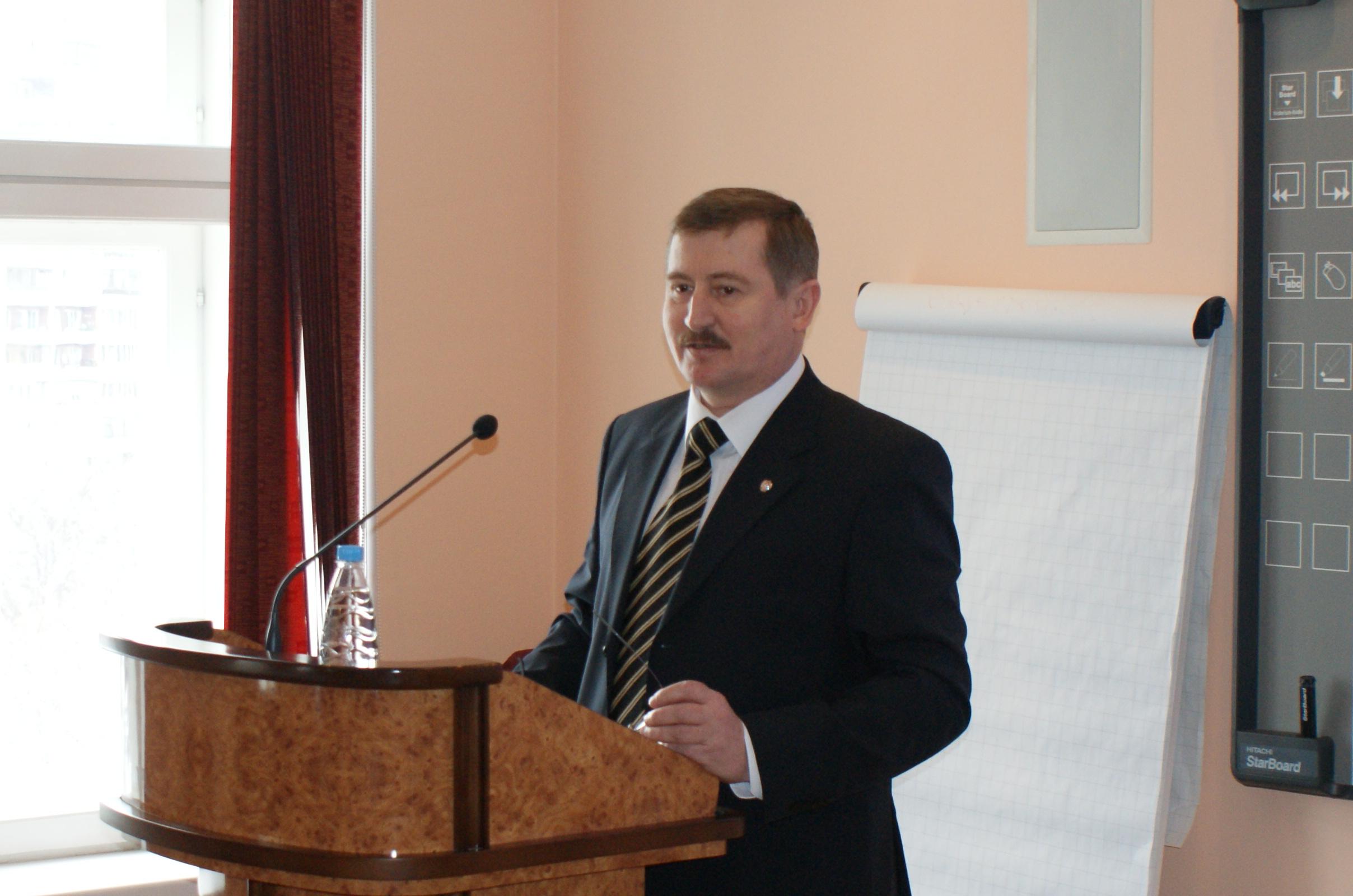 Выступение ректора Академии Следственного Комитета А.И. Багмета 27 марта 2012