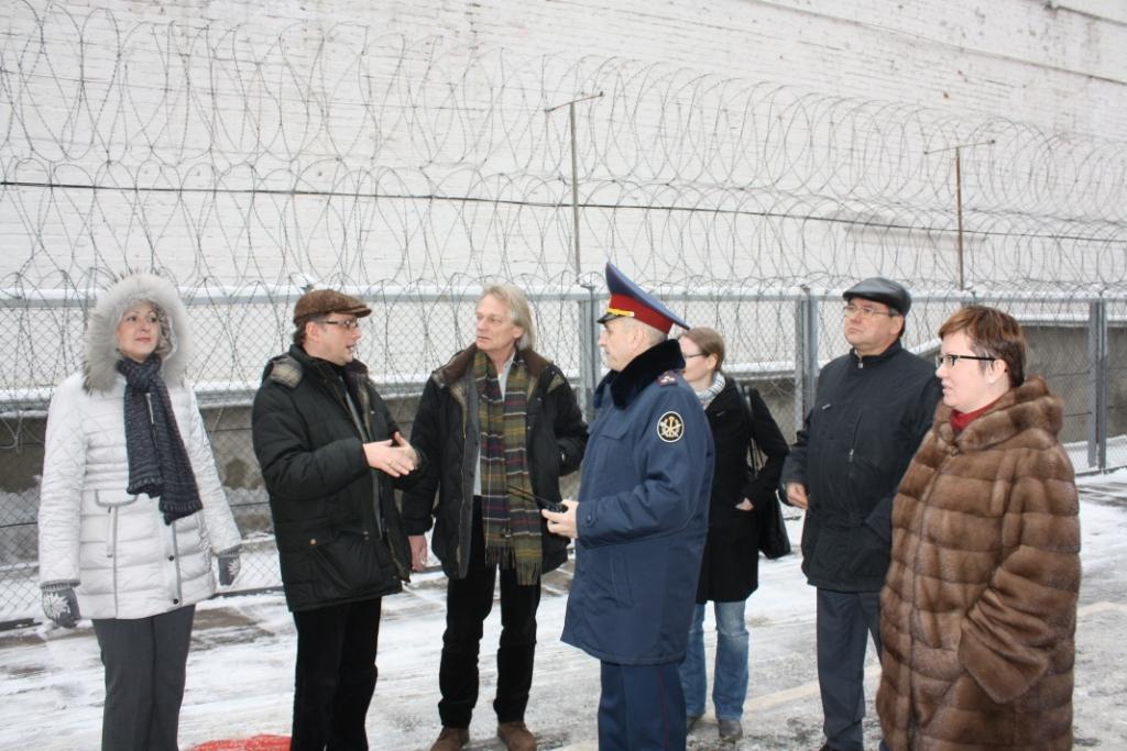 Посещение членами Союза Бутырской тюрьмы