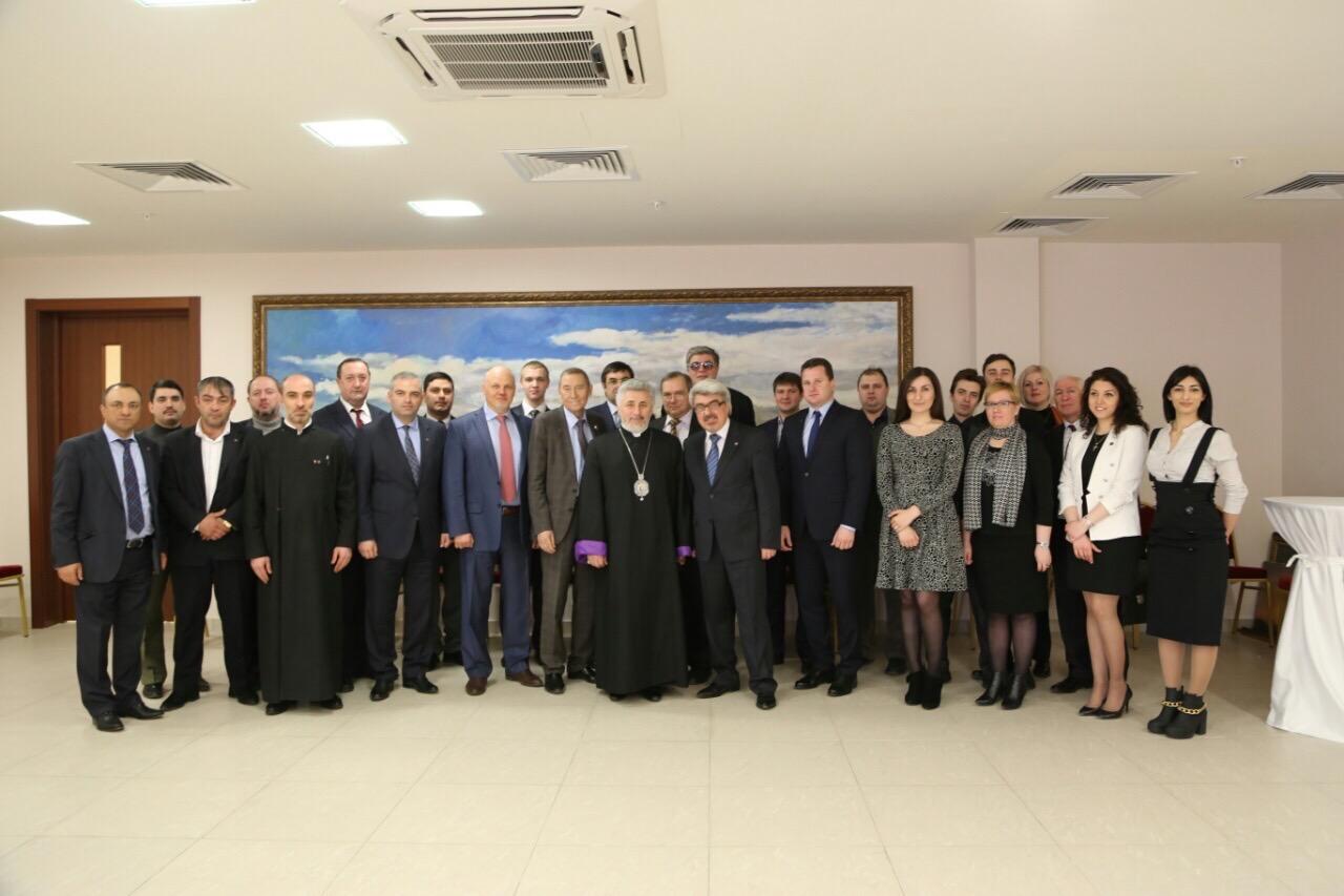 Члены Союза приняли участие в мероприятиях, посвященных трагической годовщине  100-летия геноцида армянского народа
