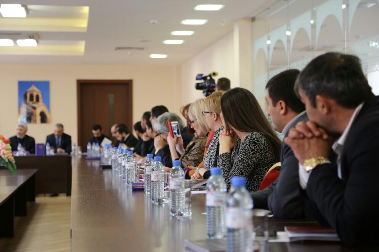 Члены Союза приняли участие в презентации учебника Уголовное право Росси и Армении