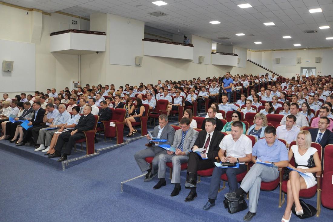 Конференция 25.09.2015 в Новороссийском филиале КрУ МВД России