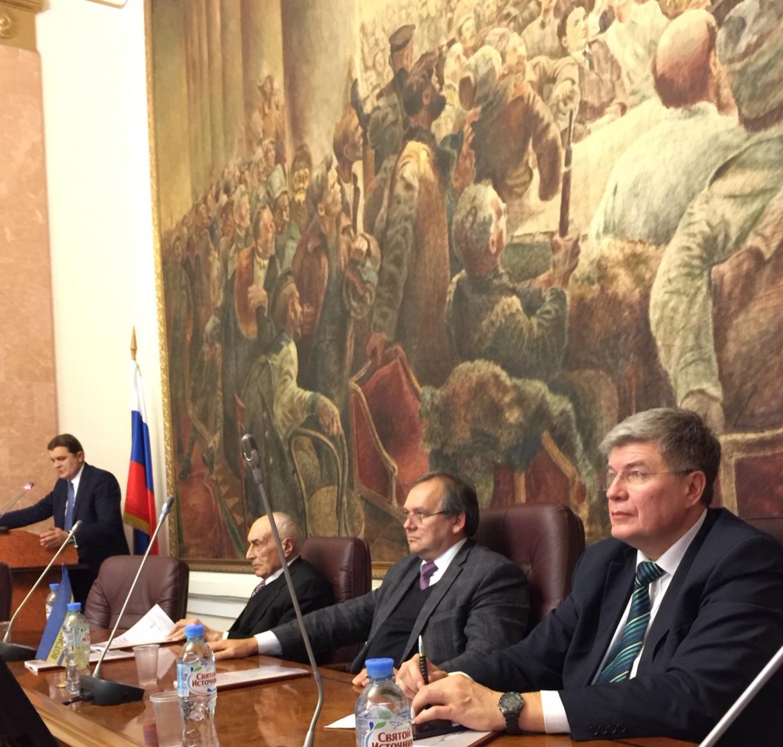 Итоговое заседание Союза криминалистов и криминологов 23 ноября 2017 г.