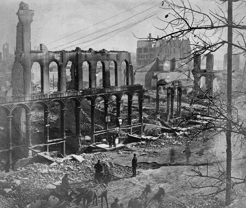 Пожар в Чикаго 8 октября 1871 года