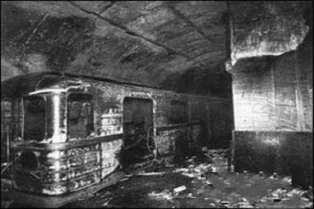 28 октября пожар в Бакинском метро